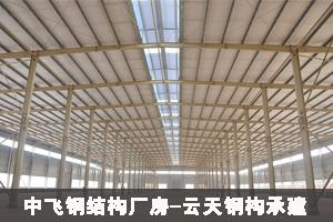 中飞钢结构厂房...